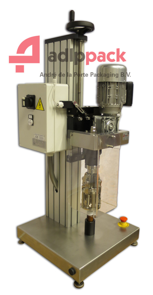 Doppensluitmachine Roll on pilferproof