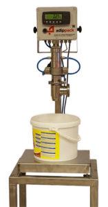 vulmachine vloeistoffen, gravimetisch afvullen, op gewicht