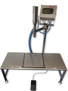afvulmachine, gravimetrisch afvullen, op gewicht, afvullen, vulmachine