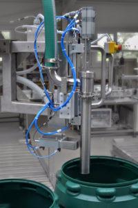 Afvulmachine voor vaten en IBC's