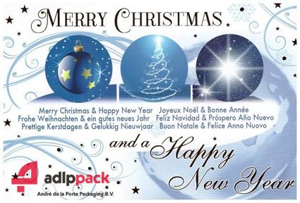 Andre de la Porte packaging kerstwens verpakkingsmachines